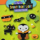 Spooky Night Light - Stickers Book - 284 Stickers - Halloween Themed