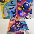 Disney Color and Play Activity Book Bundle