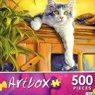 Observation Post by Lucie Bilodeau - Art Box - 500 Piece Jigsaw Puzzle