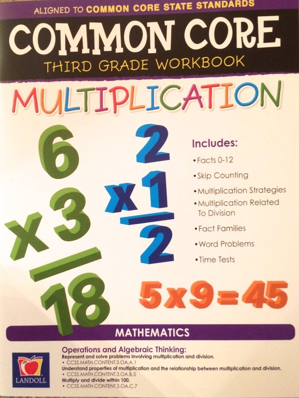Common Core Multiplication Third Grade Workbook
