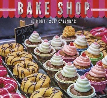Bake Shop 2017 Wall Calendar (16 Month)