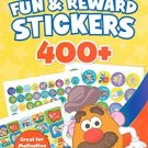 Playskool Mr. Potato Head Fun & Reward Fun Stickers 400