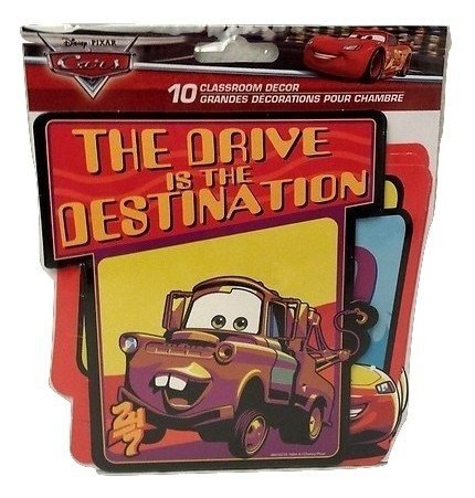 Disney Cars Wall Classroom Decor Clubhouse & Friends Kids Back to School Pre-school Elementary