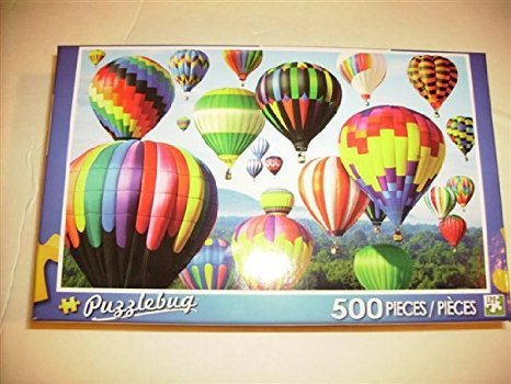 """PUZZLEBUG 500 PIECE PUZZLE - """"FLOATING THE SKIES"""""""