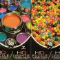 Jelly Beans & Colorful Paint Cans - HD Puzzle (each puzzle is 500 pieces)