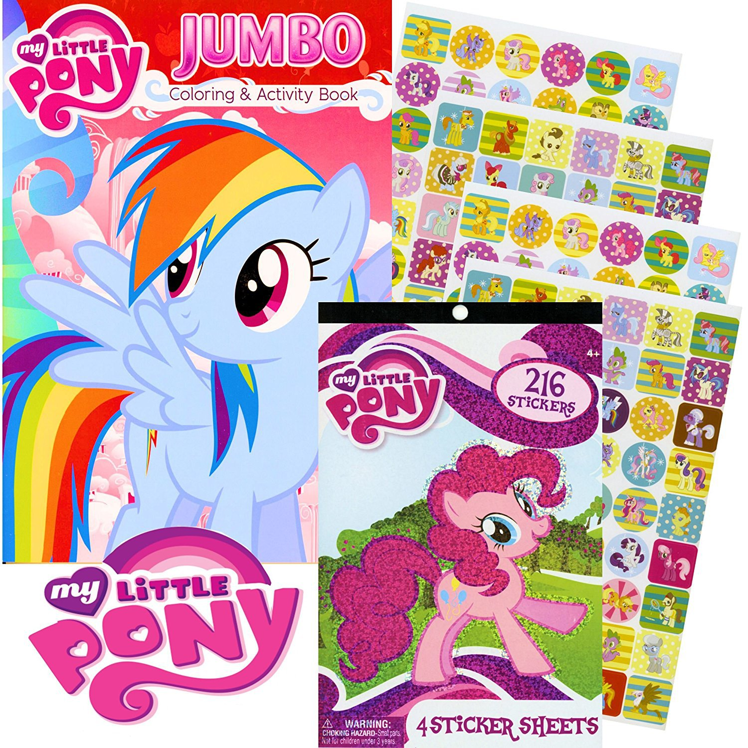 My Little Pony® Rainbow Dash Coloring Book & Stickers