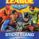 Justice League Stickerland 295+ Stickers