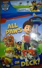 Paw Patrol All Paws on Deck 5-Pack Sticker Book