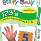 Brainy Baby 123 Flashcards