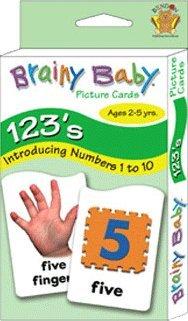 Brainy Baby 123 Flashcards