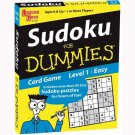 Sudoku for Dummies Card Game: Easy by University Games