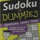 Sudoka for Dummies Card Game Level 2 - Tricky