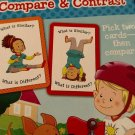 Fisher Price Little People Compare & Contrast 36 Flash Cards