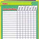 Chore Chart / Planner / Progress Charts - Magnetic Dry Erase Chore Chart - (Full sheet Magnetic)