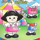 Little People Model and Play Book: A World of Fun!