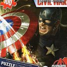 Captain America Civil War 100 Piece Puzzle - Avengers - (Cap Fighting Black Panther) - v2