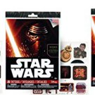 Star Wars EP7 25pc Temporary Tattoos x 3 set