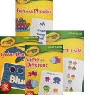 Crayola Early Learning Flash Cards - Set of 4 Packs