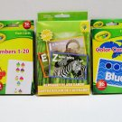 Crayola & Teaching Tree Early Learning Flash Cards Set of 3 Packs