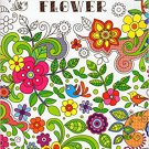 Adult Coloring Book - Flower - v2