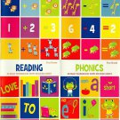 First Grade Educational Workbooks With Sticker Sheet - Reading, Phonics, Addition, & Subtraction
