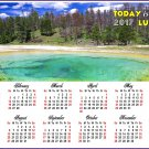 2017 Magnetic Calendar - Calendar Magnets - Today is my Lucky Day - Edition #11