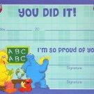 Sesame Street Classroom Certificates - v4