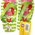 Strawberry Shortcake Flip Flops Size L 12 - 13 (Kids) - v2