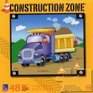Construction Zone - Dump Truck - 48 Piece Jigsaw Puzzle