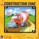 Construction Zone - Cement Mixer - 48 Piece Jigsaw Puzzle