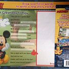 Disney Mickey Mouse Wipe-Clean Activity Board - 2 Sides