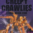 Creepy Crawlies - Sticker Jigsaw Book - With Over 50 Stickers