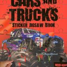 Cars and Trucks - Sticker Jigsaw Book - With Over 50 Stickers