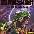 Dinosaur - Sticker Jigsaw Book - With Over 50 Stickers