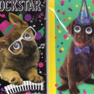 Hardcover Executive Notebooks - Puppy Dog Journal Set: 2 Dog Journals - Books with Moving Eyes