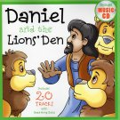 Daniel and the Lions' Den - Bible Book - Includes 20 Tracks with Read Along Story