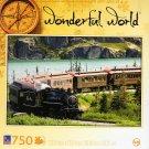 Steam Engine - Wonderful World - 750 Piece Jigsaw Puzzle