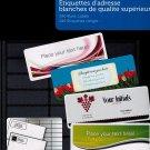 Polaroid Mailing Labels White Sticker Blank Address Label