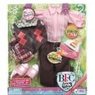 Best Friends Club Ink. 18 inches Large Doll Fashion Pack Pretty Preppy
