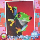 Puzzlebug 100 Piece Puzzle ~ Red-Eyed Tree Frog