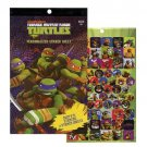 Teenage Mutant Ninja Turtles 270 Sticker Book by Nickelodeon