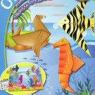 Beginners Origami Paper Folding Kit - Youtube Ready Video Instructions - Sea Animals