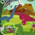 Beginners Origami Paper Folding Kit - Youtube Ready Video Instructions - Dinosaurs