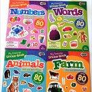 My Favorite Sticker Books - Animals, Words, Numbers, Farm