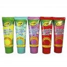 Crayola Bathtub Fingerpaint 5 Color Variety Pack, 3 Ounce Tubes