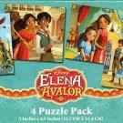 Elena Of Avalor - 4 Puzzle Pack - 12 Piece Jigsaw Puzzle  - v3