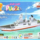 French Horizon Frigates - 3D Puzzle - Assembly Model Puzzle Kit