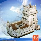 Worlds Great Architecture - Belem Tower - 3D Puzzle