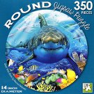 Great White Shark by Howard Robinsons - 350 Piece Round Jigsaw Puzzle