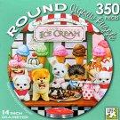 Puppy Parlour by Corinne Ferguson - 350 Piece Round Jigsaw Puzzle